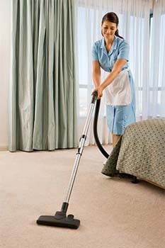 This site has a House Cleaning Checklist for Maid - would also be helpful as a checklist for  your own house!