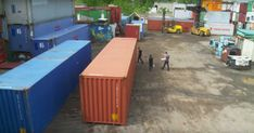 See how shipping containers are transformed into the perfect countryside home.