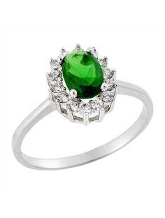Ροζέτα Λευκόχρυση 14Κ με Ζιργκόν Αναφορά 023445 Ένα όμορφο δαχτυλίδι (ροζέτα) που μπορείτε να χαρίσετε σε μια γυναίκα το οποίο είναι κατασκευασμένο από Χρυσό 14Κ σε λευκό χρώμα με πέτρες ημιπολύτιμες (ζιργκόν) σε χρώμα λευκό και πράσινο Engagement Rings, Jewelry, Fashion, Enagement Rings, Moda, Wedding Rings, Jewlery, Jewerly, Fashion Styles