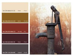 Rust Color Inspiration Scheme Mood Board