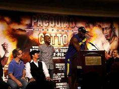 Ron Artest: Manny Pacquiao vs. Miguel Cotto