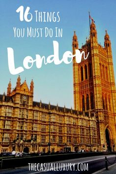 What to Do in London // Trip to England // Where to Stay in London // Where to Eat in London // England Travel Tips // London Travel Tips