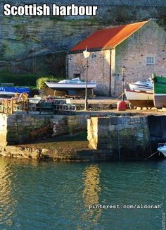 Scottish harbour