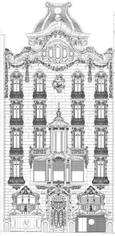 Casa Comalat Art Nouveau building by the architect Salvador Valeri. - Google Search