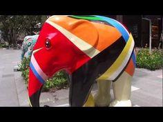 Art elephants parade @ Paragon Singapore