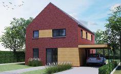 Realisatie | Thuis Best woningbouw |BEN woning Modern type B - verdieping. Eigen woning bouwen? www.thuisbest.be