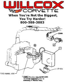 19781980corvettealarmrelaylocation Corvette