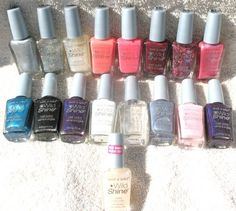 Wet n Wild Wild Shine Nail Polish Lot of 17 (14 Different Col...