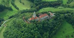 Luftbild Leuchtenburg, near Jena, Thuringia, Germany #thueringen #thueringenentdecken #wanderlust