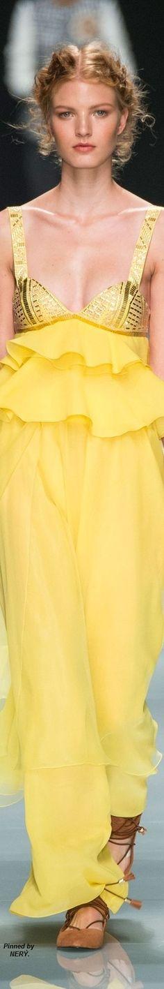 Mellow Yellow, Bright Yellow, Fashion 2017, Womens Fashion, Yellow Maxi Dress, Jaune Orange, Dress Robes, Yellow Fashion, Shades Of Yellow