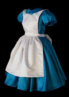 Classic Alice in Wonderland Custom Costume by NeverbugCreations, This goes on the Christmas wish list