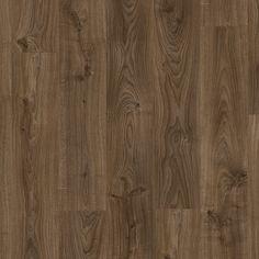 BACL40027 - Chêne cottage brun foncé Longueur: 125,1 cm - Largeur: 18,7 cm - Épaisseur: 4,5 mm  Boîte: 2,105 m² Nombre de planches par boîte : 9