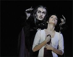 Dance of the vampires in the theater of the West Berlin