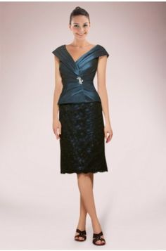 Delicate Sweetheart Knee-length Sheath Lace Mother of Bride Dress with Matching Jacket #celeb16 #bridesmaiddresses