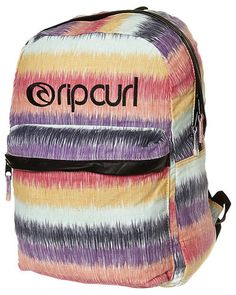 SURFSTITCH - BAGS - BACKPACKS - RIP CURL MARLEY STRIPE BACKPACK - PURPLE
