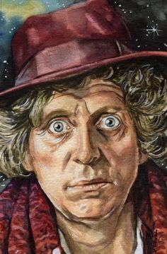 Tom Baker.  Perfect expression. :)