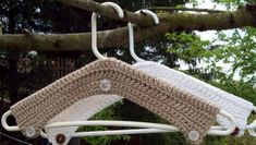 Pattern Directions for making Crochet Hanger Cover PDF Pattern $4.00