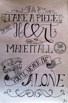 Never be alone ~ by Shawn Mendes made by DrawMotivation (favorite music songs) Lyric Drawings, Tumblr Drawings, Drawing Quotes, Frases Shawn Mendes, Shawn Mendes Songs, Hand Lettering Quotes, Calligraphy Quotes, Typography, Never Be Alone