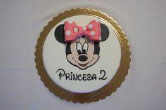 Menina Framboesa: Minnie cake (birthday cake)