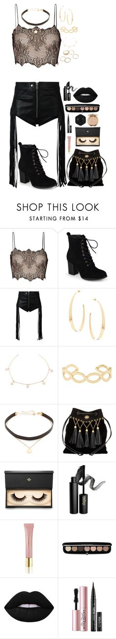 """""""Girls Night Out   Thank You for 6K + Likes"""" by cupkatyk ❤ liked on Polyvore featuring Antonio Berardi, Journee Collection, Diesel, Lana, Accessorize, Jennifer Zeuner, Miu Miu, Lash Star Beauty, INIKA and AERIN"""