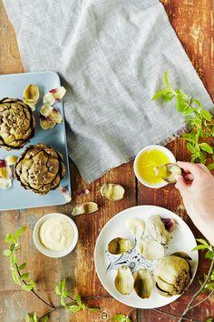 Latva-artisokka, sitruunavoi ja parmesaanimajoneesi | K-Ruoka #kasvikset