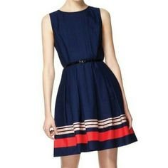 Jason Wu For Target Navy Blue Dress Sz 6