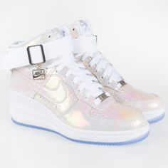 Nike WMNS Lunar Force Sky Hi Iridescent Pearl Collection 63ada8ebb