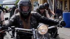 SAGA a Black Metal Viking Biker-film with Zombies!  This full length trailer hit Norwegian TV today.