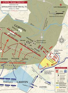 Appomattox Court House   April 9, 1865. American Civil WarAmerican ...