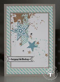 Love for Stamping - Gorgeous Grunge, Simply Stars