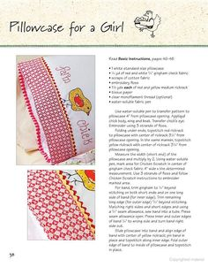 Oh-So-Sweet Embroidery: 15 Fun and Easy Projects for Family & Friends - Gooseberry Patch - Google Books