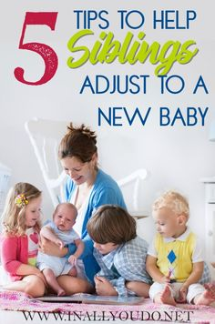 5 Tips to Help Siblings Adjust to New Baby. For tweens and teens having a new baby in the family can be a challenging adjustment. Parenting Articles, Kids And Parenting, Parenting Hacks, Positive Parenting Solutions, New Sibling, Second Baby, 2nd Baby, Baby Boy, Christian Parenting