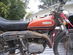 1973 Yamaha RT1 360 Enduro Disassembled Vintage Project | eBay