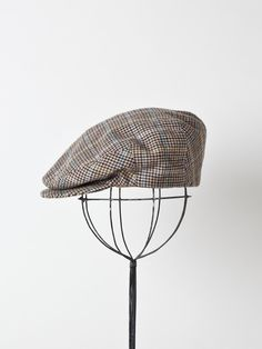 Brooks Brother Flat Cap via Etsy.