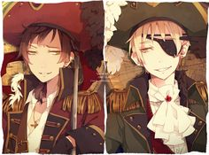 Pirate Spain and Pirate England
