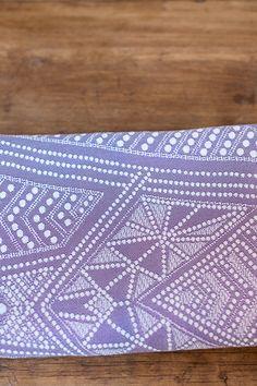 Pavo Textiles Gotham Violet Sky Wrap