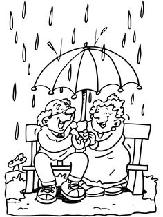 opa and oma Preschool Colors, Preschool Activities, Umbrella Cards, Grandparents Day Gifts, Man Quilt, Cute Coloring Pages, Art Impressions, Digi Stamps, Copics