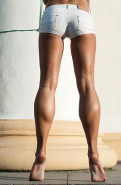 how to get smaller calves