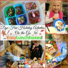 Dye-free (and gluten-free!) holiday cookie and gingerbread house decorating party solutions.