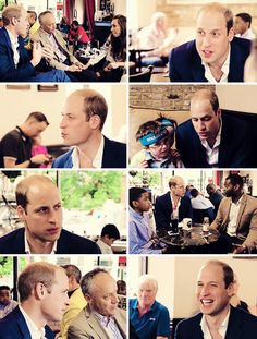The Duke Of Cambridge met with other dads, mentors & their children to discuss fatherhood over breakfast.  Take the Fathers Day Challenge #celebratewithconversation