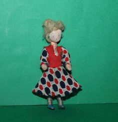 Vintage Dolls House Grecon Lady Doll by kittymacminis on Etsy