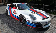 It is automotive wrap fest today! These Cam Shaft customs are very eye-popping. They bring some favorite and iconic racing liveries to life on Porsche 911s in a very well-executed way. The funny thing about Gulf colors, in particular, is a joke I heard while visiting the GT40 factory of Superfor