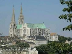 Chartres, France. I want to see the cathedral.