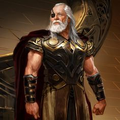 "2,750 curtidas, 22 comentários - Ryan Meinerding (@ryan_meinerding_art) no Instagram: ""Odin!! Here is one of design images from the first Thor movie.  #odin #anthonyhopkins…"""