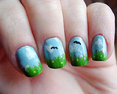 Welcome Spring's Meadow manicure!