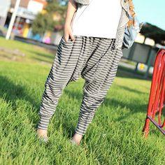 '59 Seconds – Striped Harem Pants'