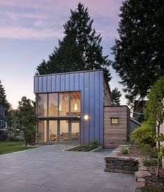 Granny Flat Modern Small Home: Garden Pavilion http://tinyhousetalk.com/granny-flat-modern-small-home/