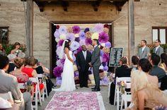 Purple Vineyard Wedding: Tomel + Lenin