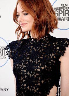 Emma Stone || 2015 Film Independent Spirit Awards