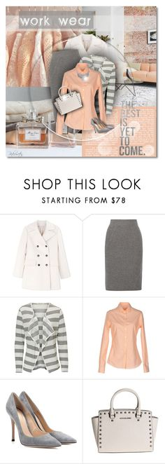 """""""The Best Is Yet To Come!"""" by pinkroseten ❤ liked on Polyvore featuring Marni, Madewell, Betty Barclay, Carlotta, Gianvito Rossi and Michael Kors"""